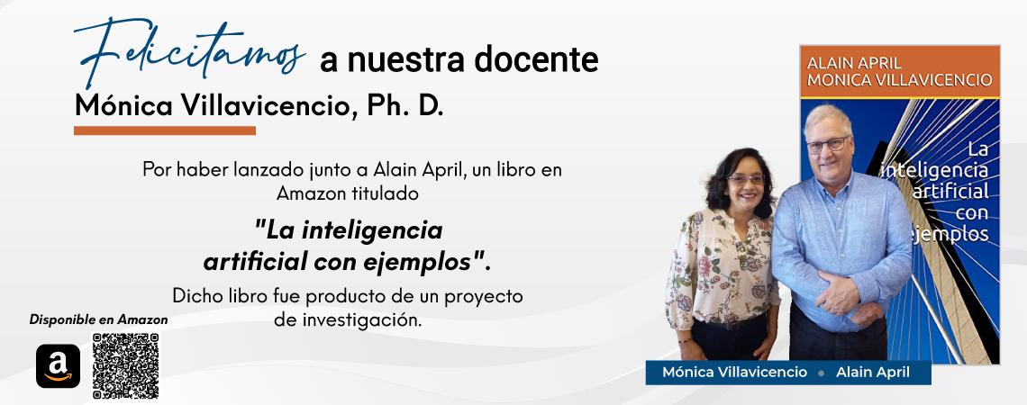 Lanzamiento de libro - Monica Villavicencio