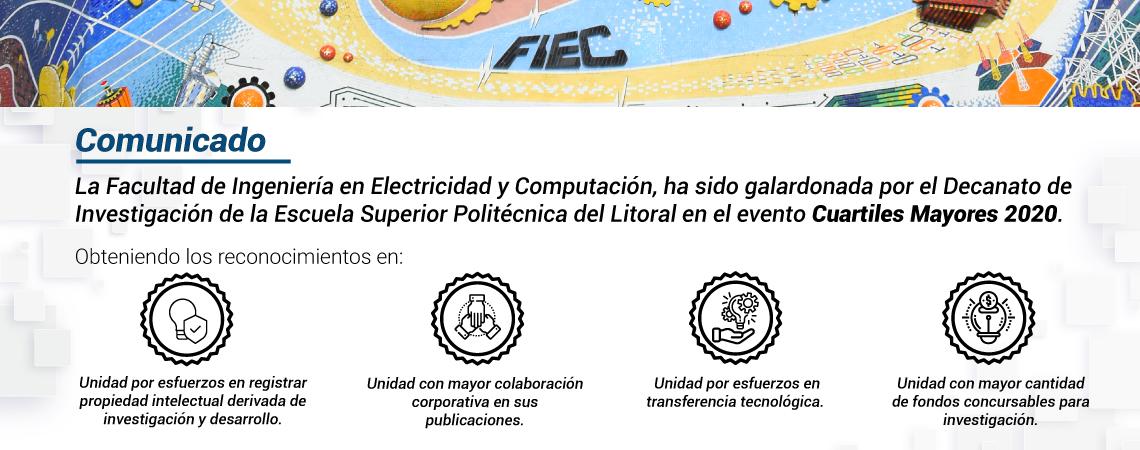Galardón FIEC, Cuartiles Mayores 2020