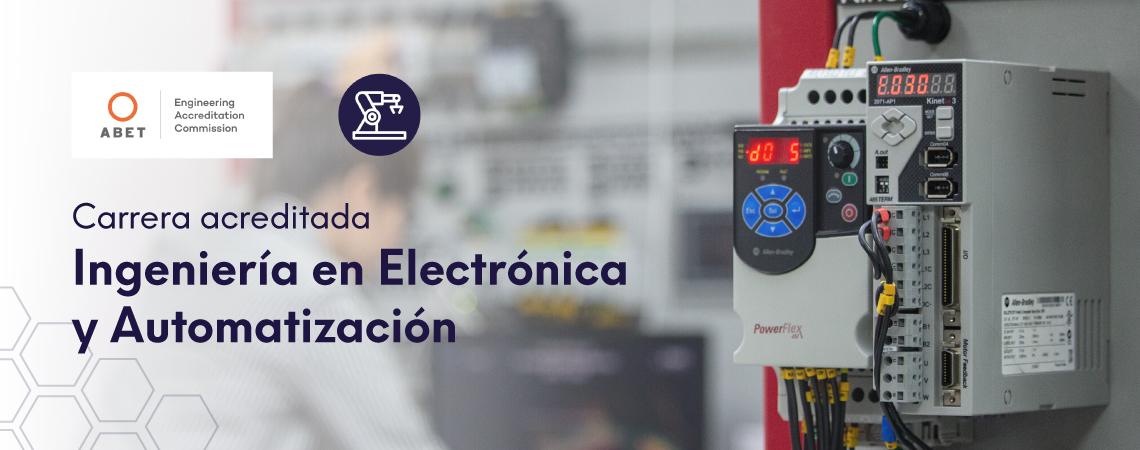 Acreditación ABET Electrónica y Automatización