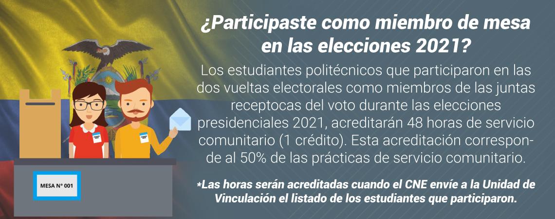 mesa elecciones 2021