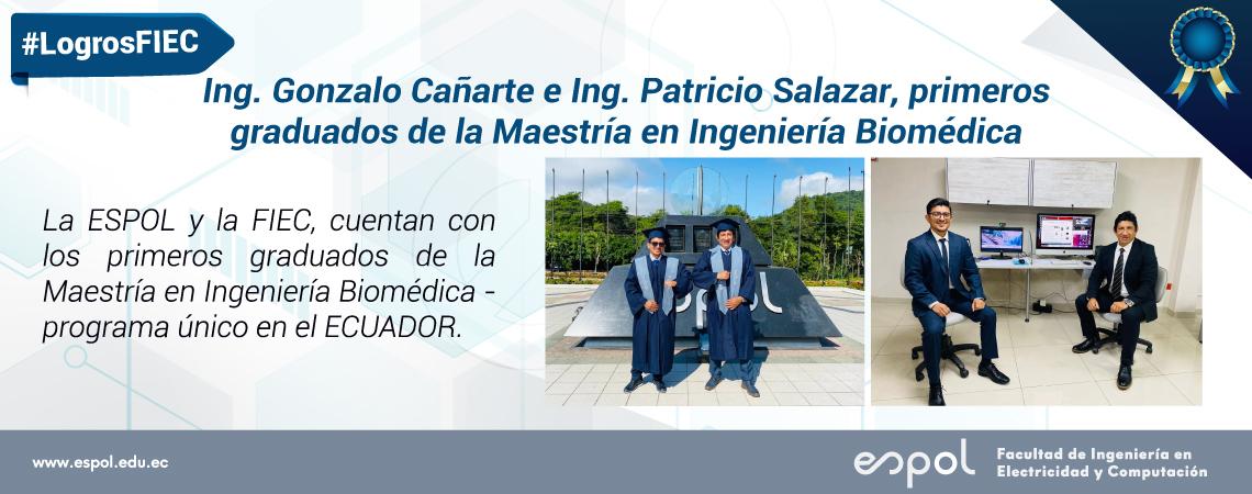 Primeros graduados de la Maestria en Ingenieria Biomedica