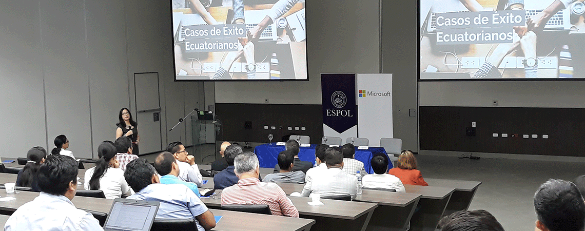 Presentación de Estudio de Adopción de Tecnologías de Cloud Computing en el Ecuador