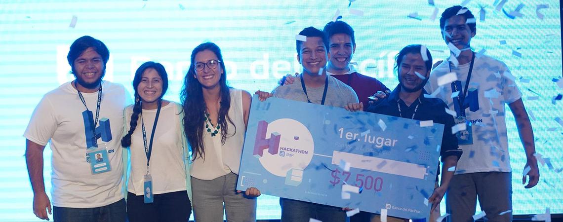 Grupo Taws ganadores del HACKATHON BDP