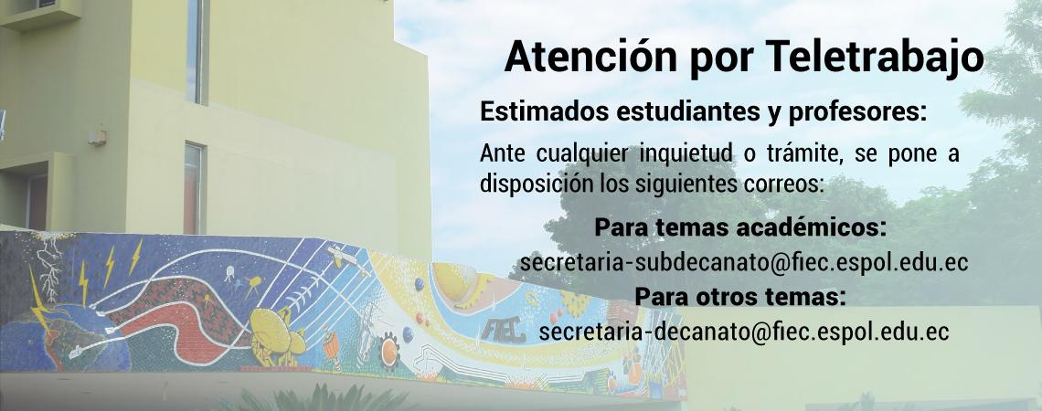 Atención por Teletrabajo